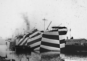 Norman Wilkinson – Razzle Dazzle Camouflage, 1919