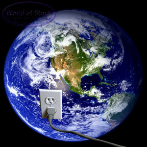 energy resources - stock image of planet earth and energy resources ...