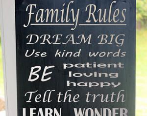 ... , Family Values, Playroom Wall Art, Rustic, Wall Sign, Family Values