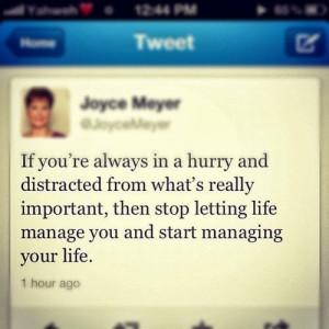 JOYCE MEYER INSPIRATION QUOTE MEMES: