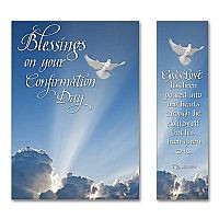 blessings on your confirmation day confirmation card $ 1 99
