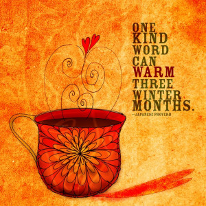 Something to warm your heart and soul. What my #Coffee says to me ...