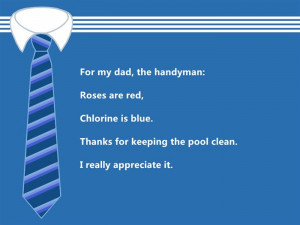Best Funny Happy Father's Day 2015 Poems From Daughter