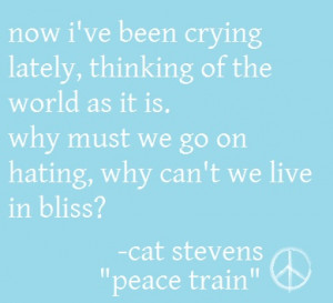 More like this: cat stevens , cat and trains .