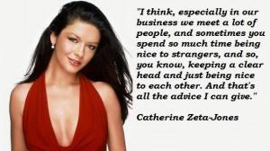 Catherine zeta jones quotes 5