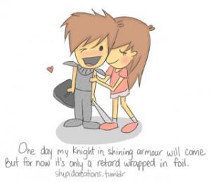 falling in love is easy..