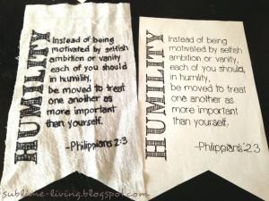 SUBLIMEliving: Family Summer Challenge: DIY Bible Verse Pennant ...