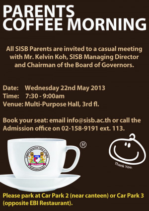 Wednesday Morning Coffee Parents 39 Coffee Morning on