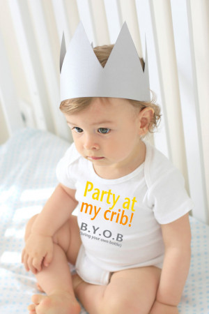 Baby Onesie® Bodysuit- Funny Quote - Gender neutral bodysuit Clothing ...