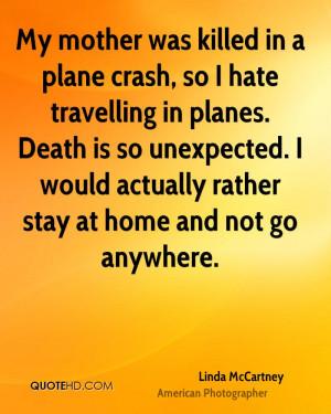 Plane Crash Quotes