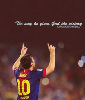 ... , christian, god, messi, photography, quote, quotes, soccer, spo