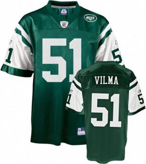 Jonathan Vilma Green New York Jets Youth NFL Replica Jersey
