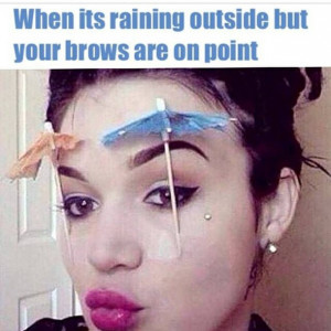 Funny Quotes About Eyebrows
