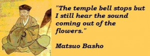 Matsuo basho famous quotes 2