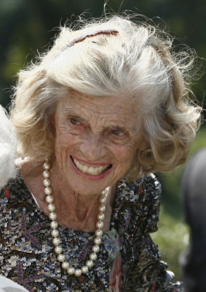 John F. Kennedy's and mother of California First Lady Maria Shriver ...