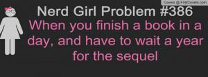 Nerd Girl Problem Profile Facebook Covers