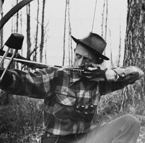 Fred Bear got many hunters interested in archery and still is a ...