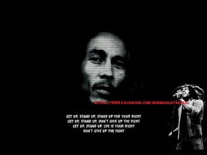 Bob Marley the use of his quotes