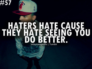 2012, haters, quote, swag, text, typography