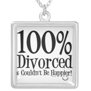 Funny Divorce Necklace