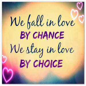Famous Falling in Love Quotation