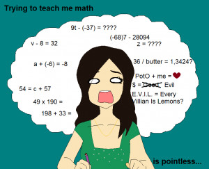 hate math why i hate school funny quote about school