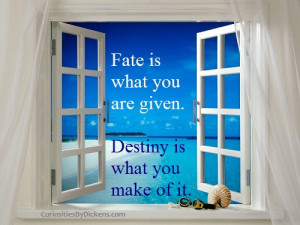 Quotes on Fate and Destiny - sweet quotes cute funny inspiring quote ...
