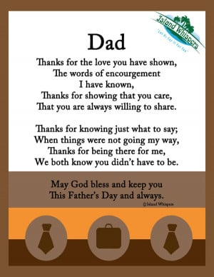 Happy Fathers Day Quotes Poems
