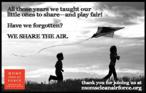 Mother's Week: We Share The Air - Moms Clean Air Force Pinned by www ...