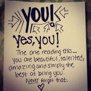 Boost your self esteem!