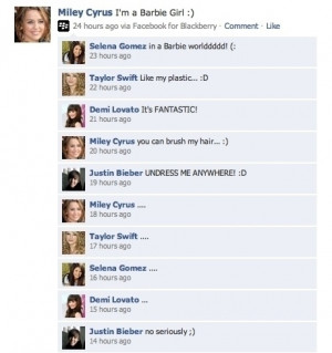 ... Size | More barbie girl funny facebook status funny quotes jokes