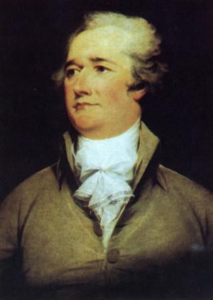Alexander Hamilton. Painting by John Trumbull, 1792. Public domain.