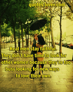 Faithful Relationship Quotes