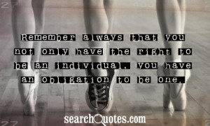 Obligation Quotes & Sayings