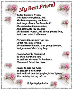 friend birthday poems