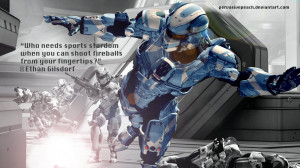 Halo 4 Dramatic Quote by PervasivePeaches