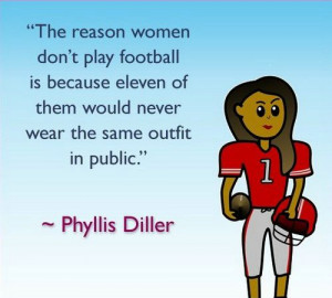 Girls Who Like Football Quotes