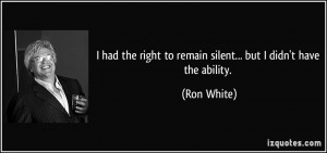 More Ron White Quotes