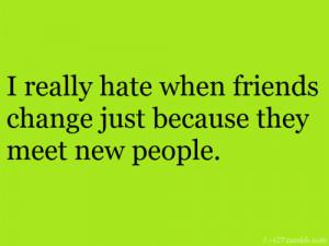 friends change on Tumblr