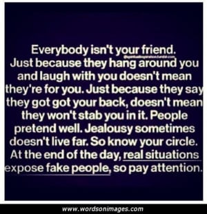 Bad Friend Quotes and Sayings