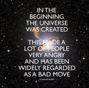 quote:Douglas Adams (xpost r/funny)