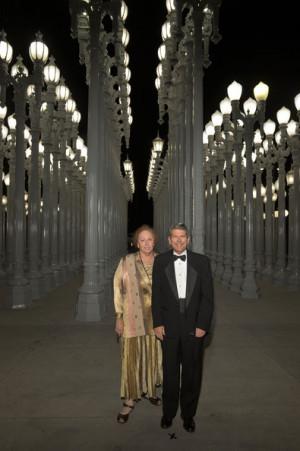 Barbara Yaroslavsky and Zev Yaroslavsky LACMA 2012 Art Film Gala