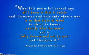 Inspirational Quotes Alexander Graham Bell