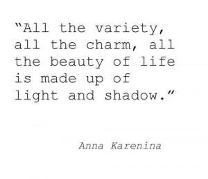 charming life pattern: anna karenina - tolstoy - quote