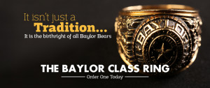 Baylor University Class Rings