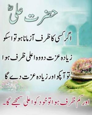 Hazrat Ali Sayings Quotes