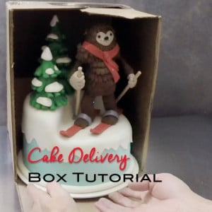 Cake Delivery Box Tutorial