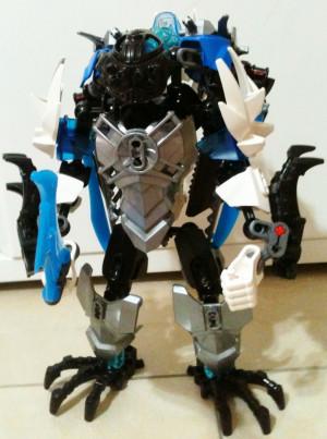 Lego Heroformer villain MOC: Icicle