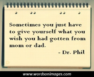Dr phil quote