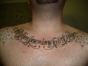 Chest Tats: Played Out or Always Original? « Read Less
